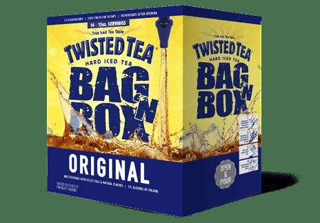 TWISTED TEA BAG-N-BOX