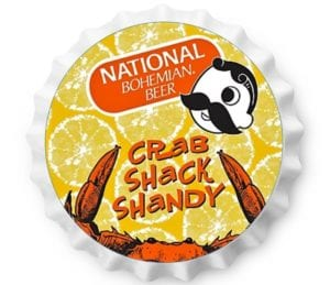 NATIONAL BOHEMIAN CRAB SHACK SHANDY