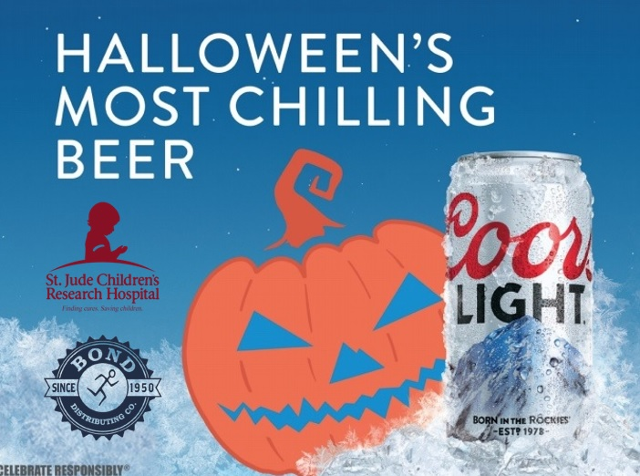 St. Jude's Halloween Promotion with Coors Light